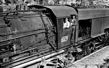 Photo: 6029 at Hawkmount in 1972. Photo by Howard Moffatt