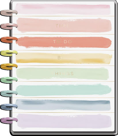 Me & My Big Ideas CLASSIC Happy Planner - Painterly Pastels