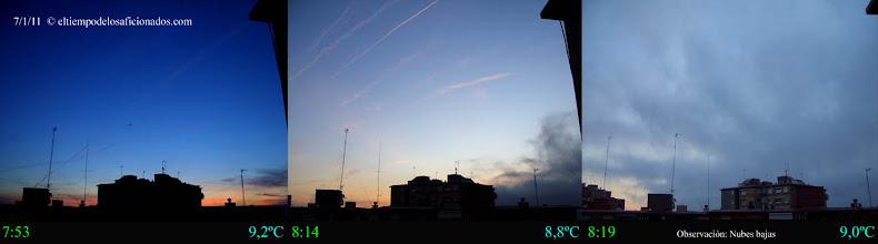 Photo: Amanecer del día 7/01/11
