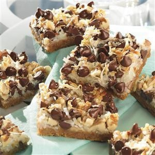 Magic Cookie Bars From Eagle Brand Recipe