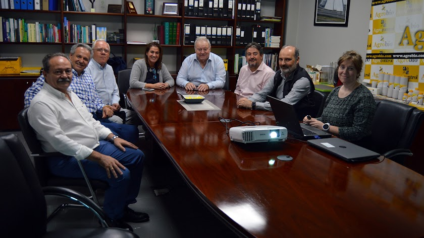 Jurado del Colegio de Economistas y directivos de Agrobio.