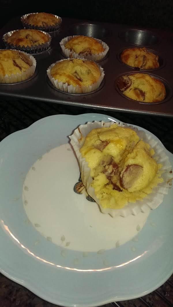 Cheddar Corn Dog Muffins Recipe