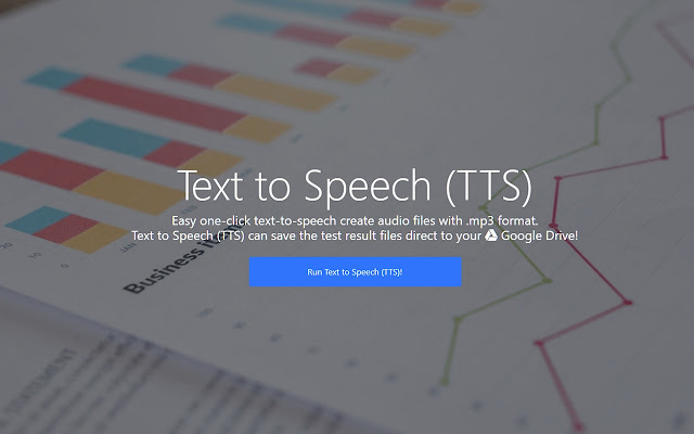 Text to Speech for Google Chrome™