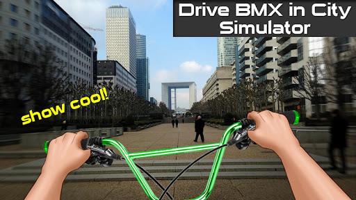Drive BMX in City Simulator 1.3 Mod screenshots 1