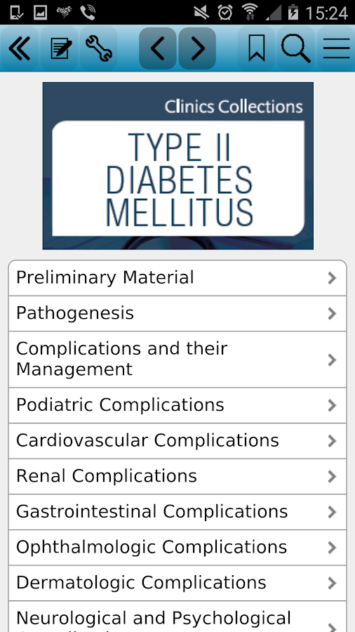 Type II Diabetes Mellitus - Android Apps on Google Play