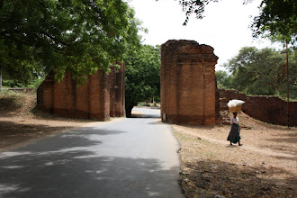 Photo: Year 2 Day 57 - City Gates and Wall to Old Bagan
