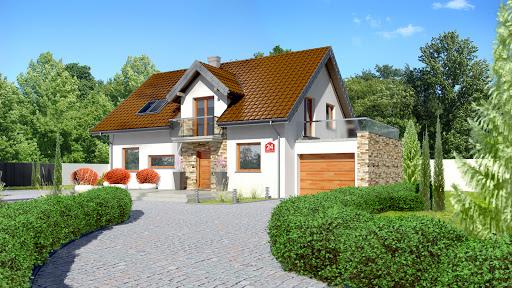 projekt Dom przy Alabastrowej 24