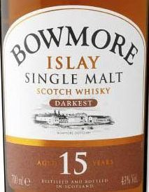 Logo for Bowmore Darkest F-Sherry | 15yr