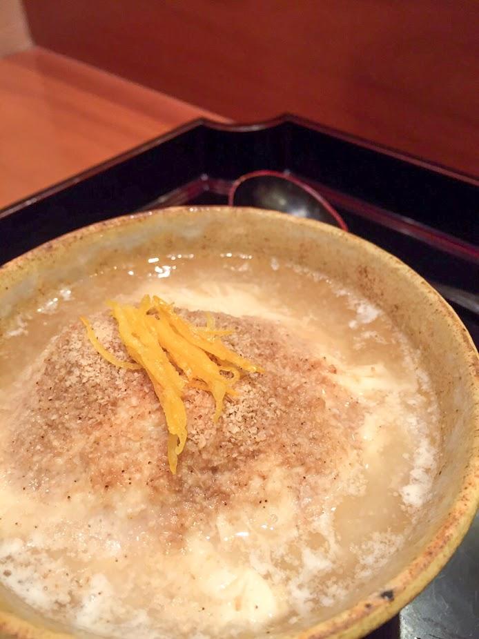 生湯葉と白菜