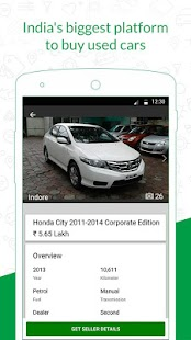 Gaadi.com - Used and New Cars- screenshot thumbnail