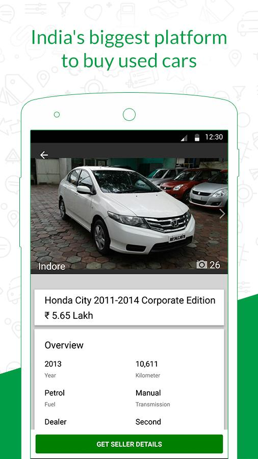 Gaadi.com - Used and New Cars- screenshot