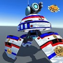 US Police Futuristic Robot Transform Shooting Game icon