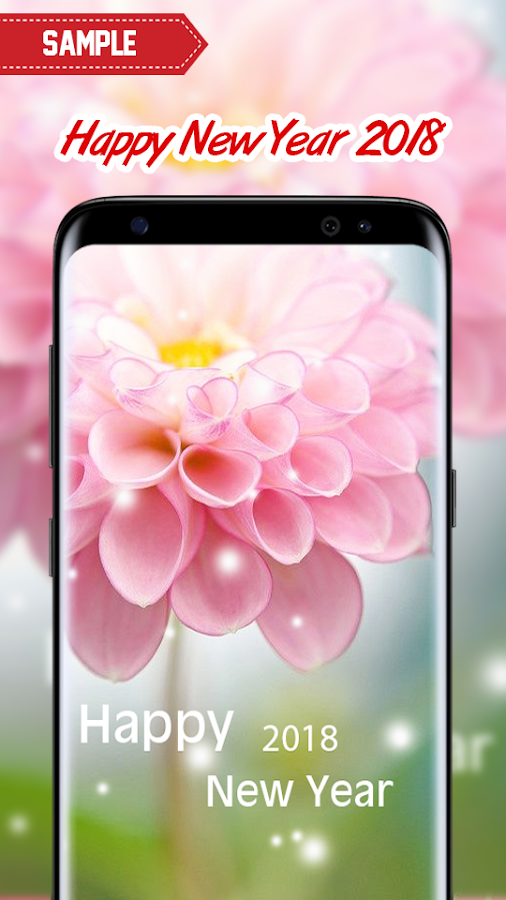 Happy New Year 2018 (Flowers) - Android Apps on Google Play