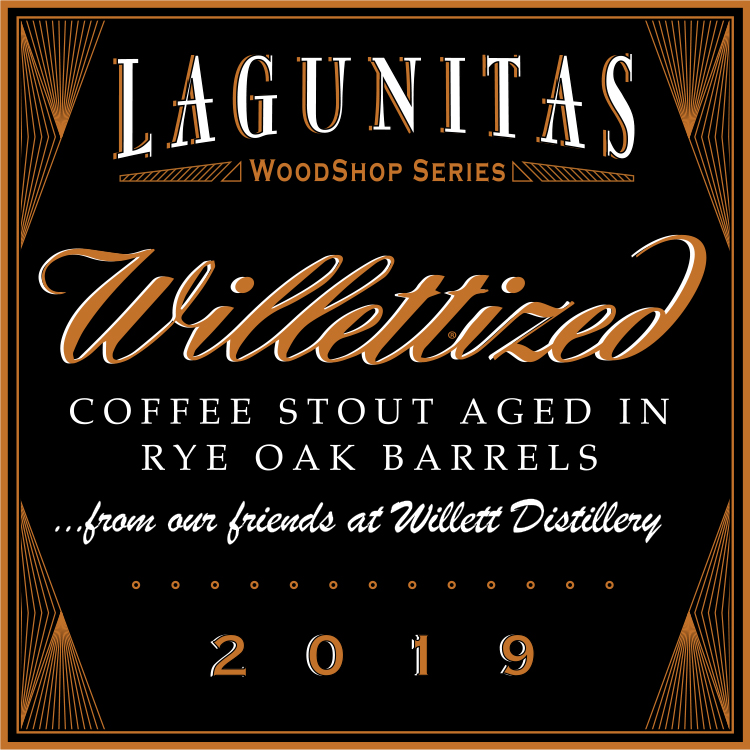 Logo of Lagunitas Willettized Coffee Stout 2019