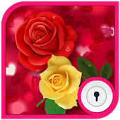 App Lock : Theme Rose
