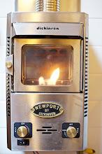Photo: Dickinson P-9000 propane boat stove.