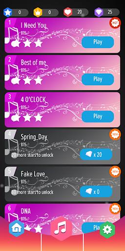 BTS Tiles : Piano Tiles DJ 0.5 screenshots 3