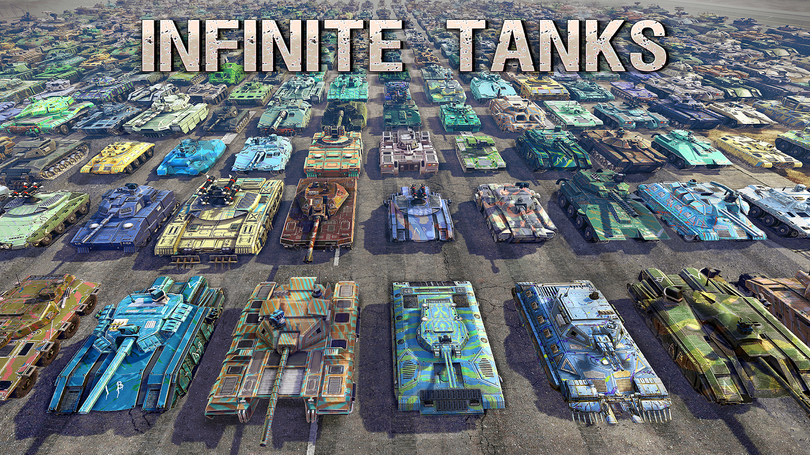 Infinite Tanks- screenshot