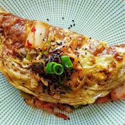 KimChi Omelette (Korean)