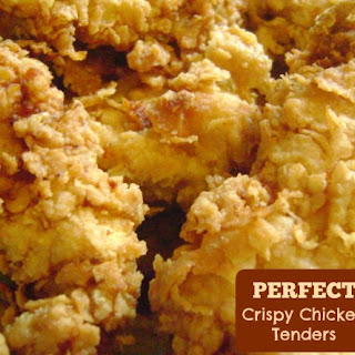 Perfect Crispy Chicken Tenders.