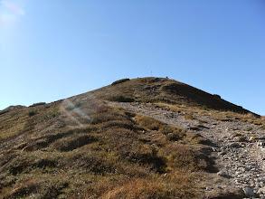Photo: i pierwszy szczyt już widać a będzie ich dziś w sumie 4 :)