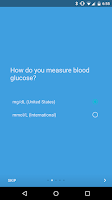 Screenshot of BG Monitor Diabetes