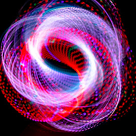 bio digital jazz by Duane Vosika - Abstract Light Painting ( nikon, red, omaha, blue, sacred geometry, pattern, light trails, light painting, circles, nebraska, geometry, long exposure )