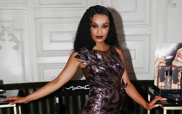 Actress Pearl Thusi at the launch of the Mac x Pearl collab on 20 February 2020.