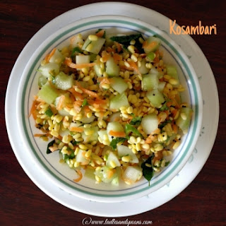 Kosambari Salad.
