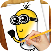 Learn to Draw Minions