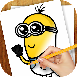 How to draw gru learn how to draw gru from despicable me despicable download learn to draw minions apk to pc download altavistaventures Images