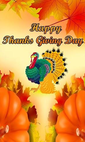 android Thanksgiving Day Wallpaper Screenshot 0
