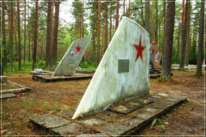 Ämari Air Force Cemetery, o cemitério de pilotos da Estônia