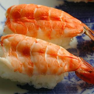 Cooked Shrimp Sushi