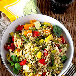 Grilled Vegetables and Couscous Salad.