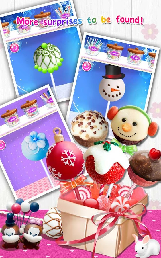 Cake Pops Maker Salon- screenshot
