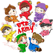 BTS Stickers For Share – BTS Emoji