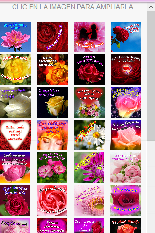 Love phrases with Roses- screenshot