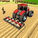 Real Tractor Driver Farm Simulator -Tractor Games icon