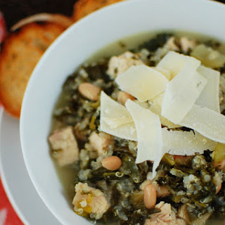 Quinoa, Kale, and Chicken Soup