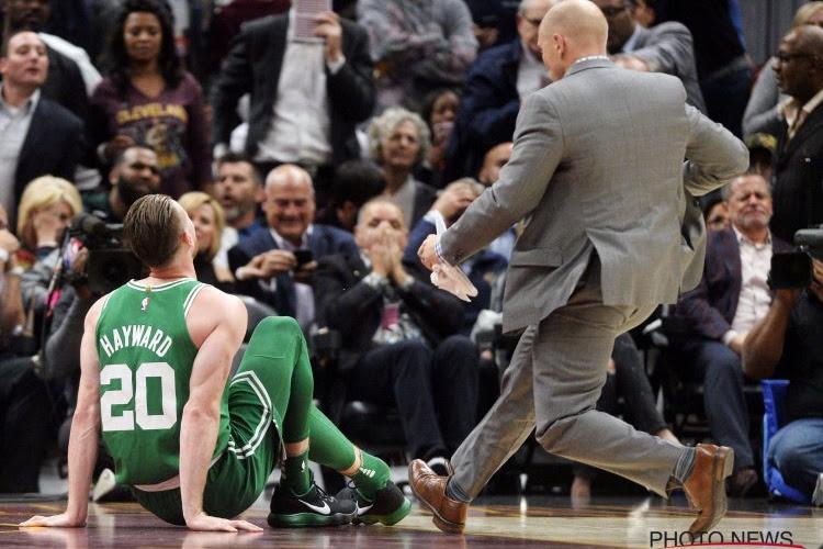 Celtics winnen vlot ondanks uitvallen Hayward, James Harden is de grote man bij Houston