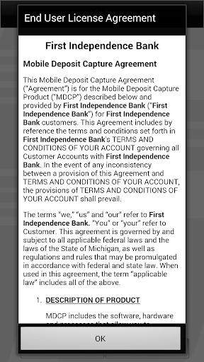 FIB Mobile Deposit