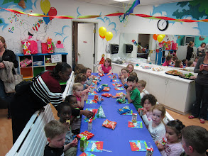 Photo: 4th Birthday Party at Tricks (next to Liam and Georgia)