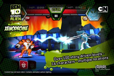 Ben 10 Xenodrome screenshot 3