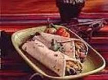 Speedy Beef and Black Bean Burritos