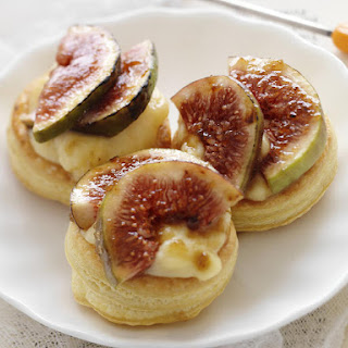 Fig and Custard Pastries