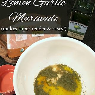 Lemon Garlic Marinade.