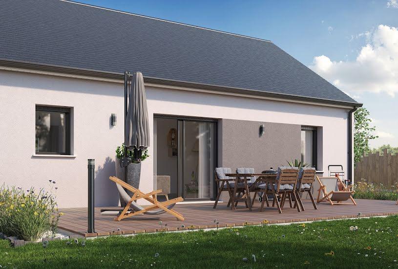 Vente Terrain + Maison - Terrain : 1177m² - Maison : 69m² à Chevannes (45210)