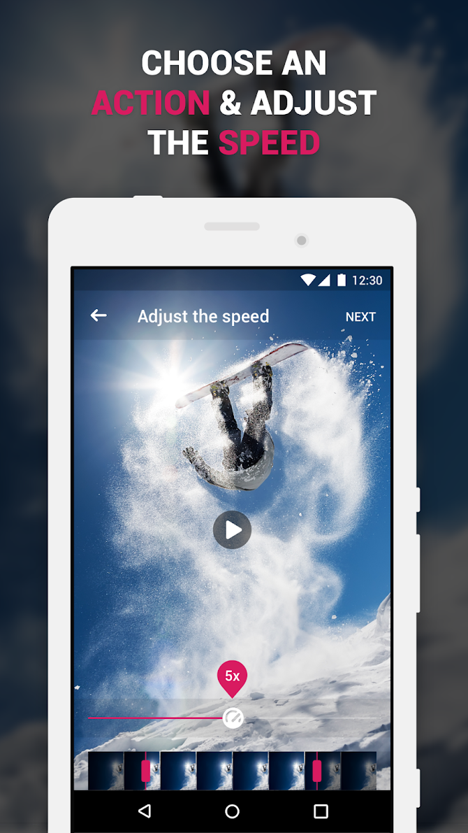 ✅ Efectum – Reverse Cam, Slow Motion, Fast Video Android 2