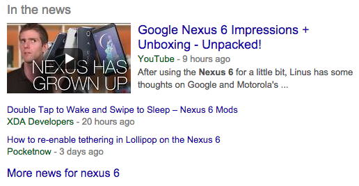Google News In the News